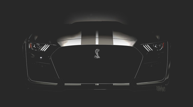 Here's Your First Glimpse Of The New Ford Mustang Shelby GT500