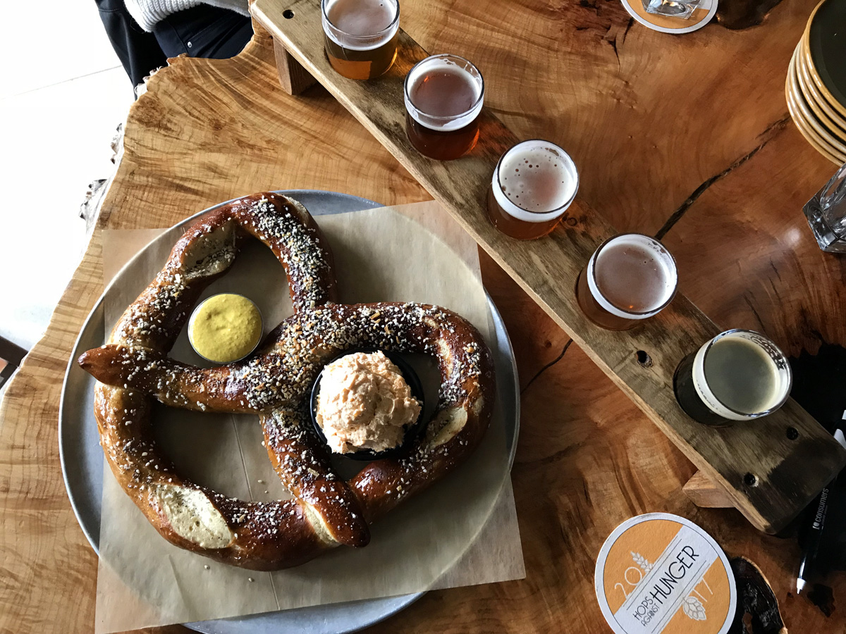 Beer and Pretzel