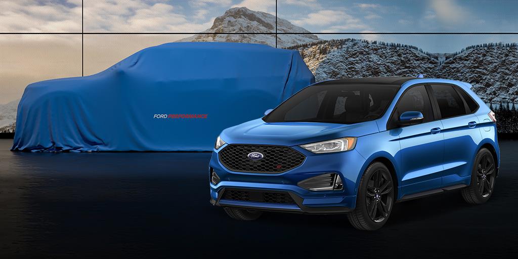 Ford Explorer ST Teaser