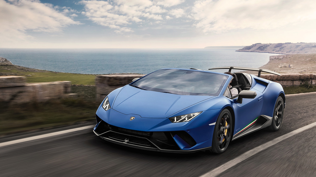 The Lamborghini Hurac 225 N Performante Spyder Is One Crazy