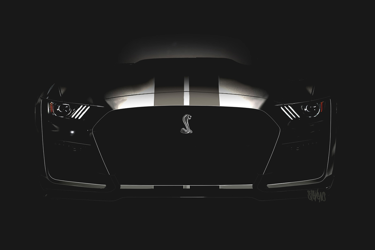 New Ford Mustang Shelby GT500