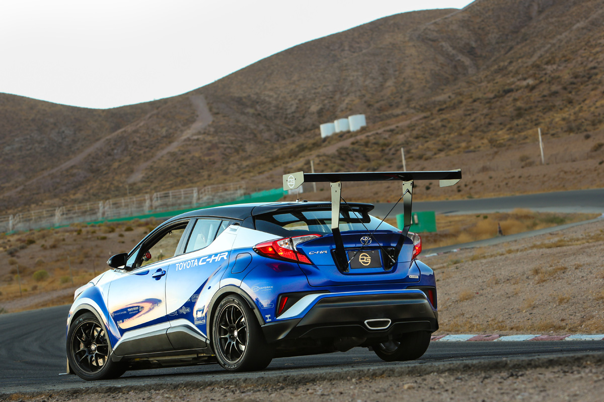 Toyota C-HR R-Tuned at Willow Springs