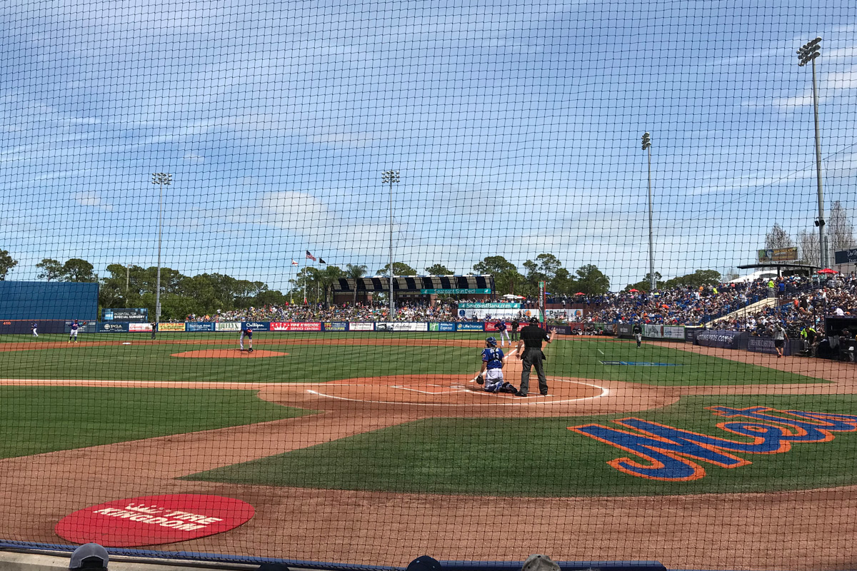 Toyota Spring Training Road Trip - Mets