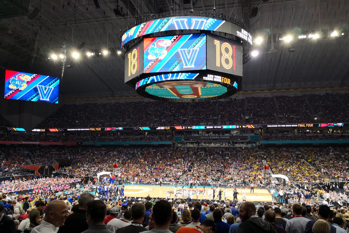 2018 Final Four in San Antonio