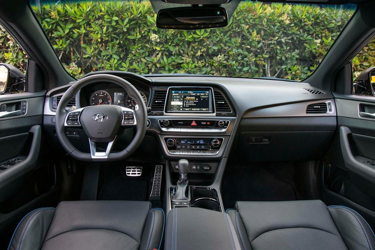 2018 Hyundai Sonata 2.0T Limited - Interior