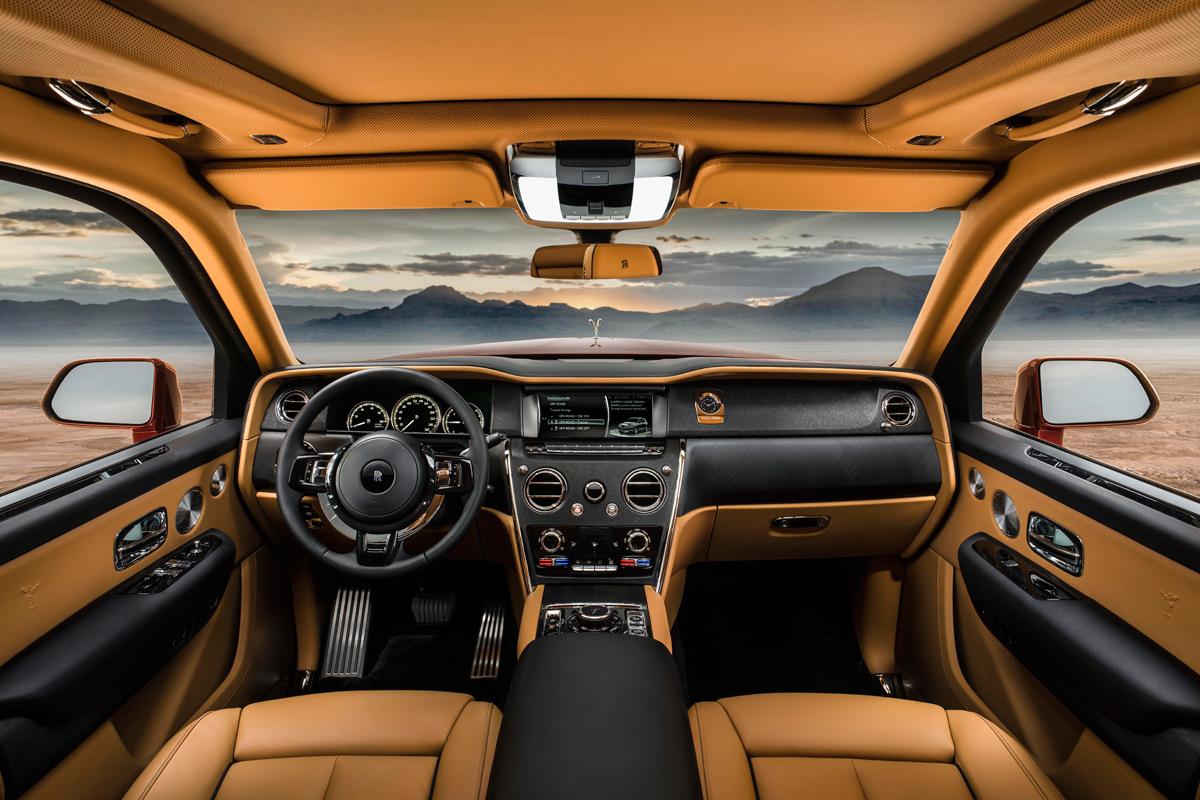 Rolls-Royce Cullinan SUV interior