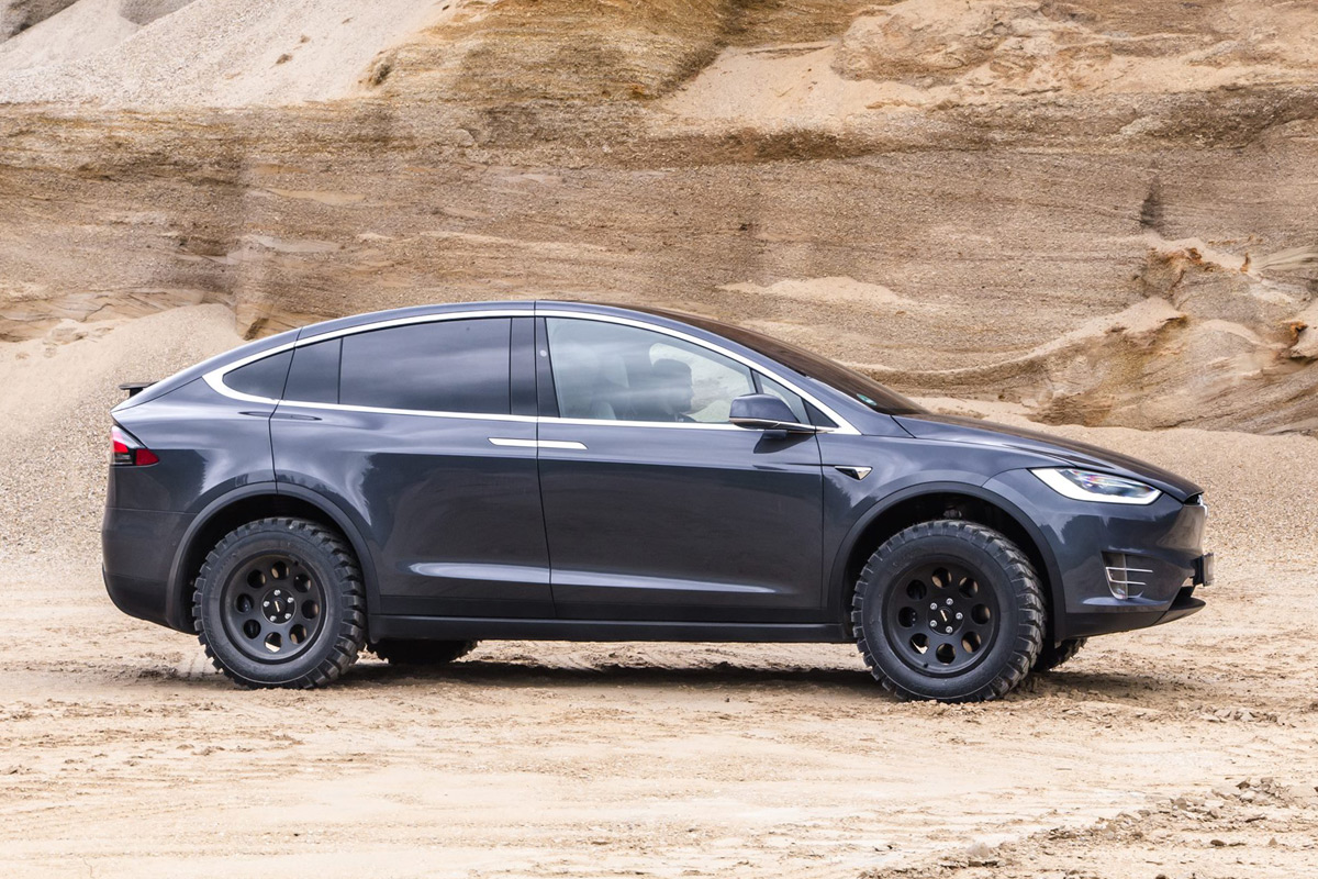 Tesla Model X Off-Road Edition