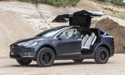 Delta 4x4 Tesla Model X Off-Road Edition