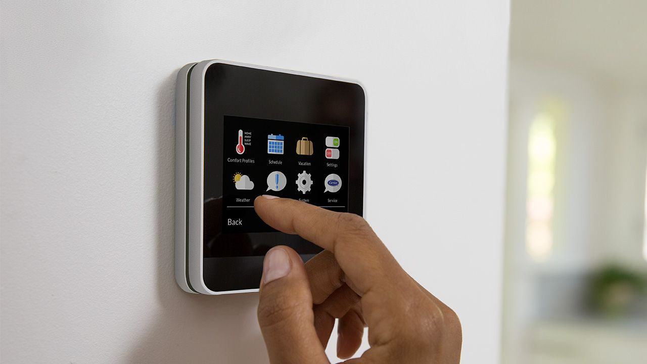 Enter To Win A Carrier Cor Wi Fi Thermostat