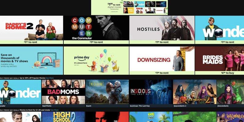 Amazon Movie Rentals