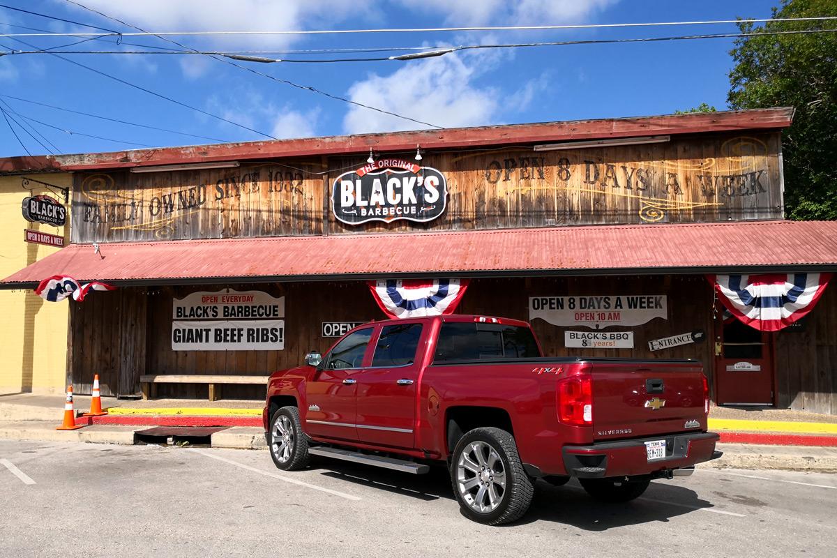 Black's BBQ in Lockhart Texas