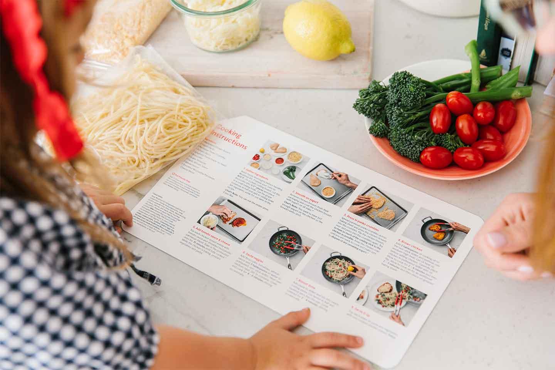 Chick-Fil-A Mealtime Kit Instructions