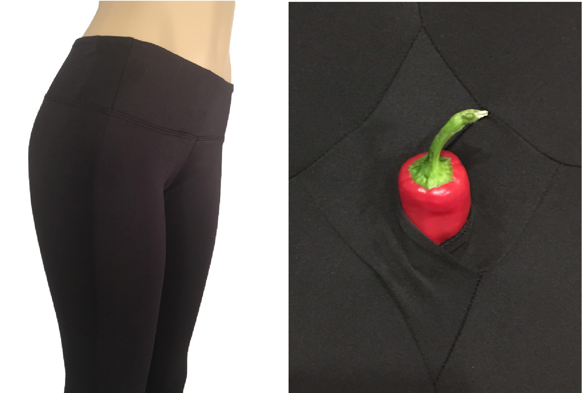 Srirachas Yoga Pants Have A Secret Opening