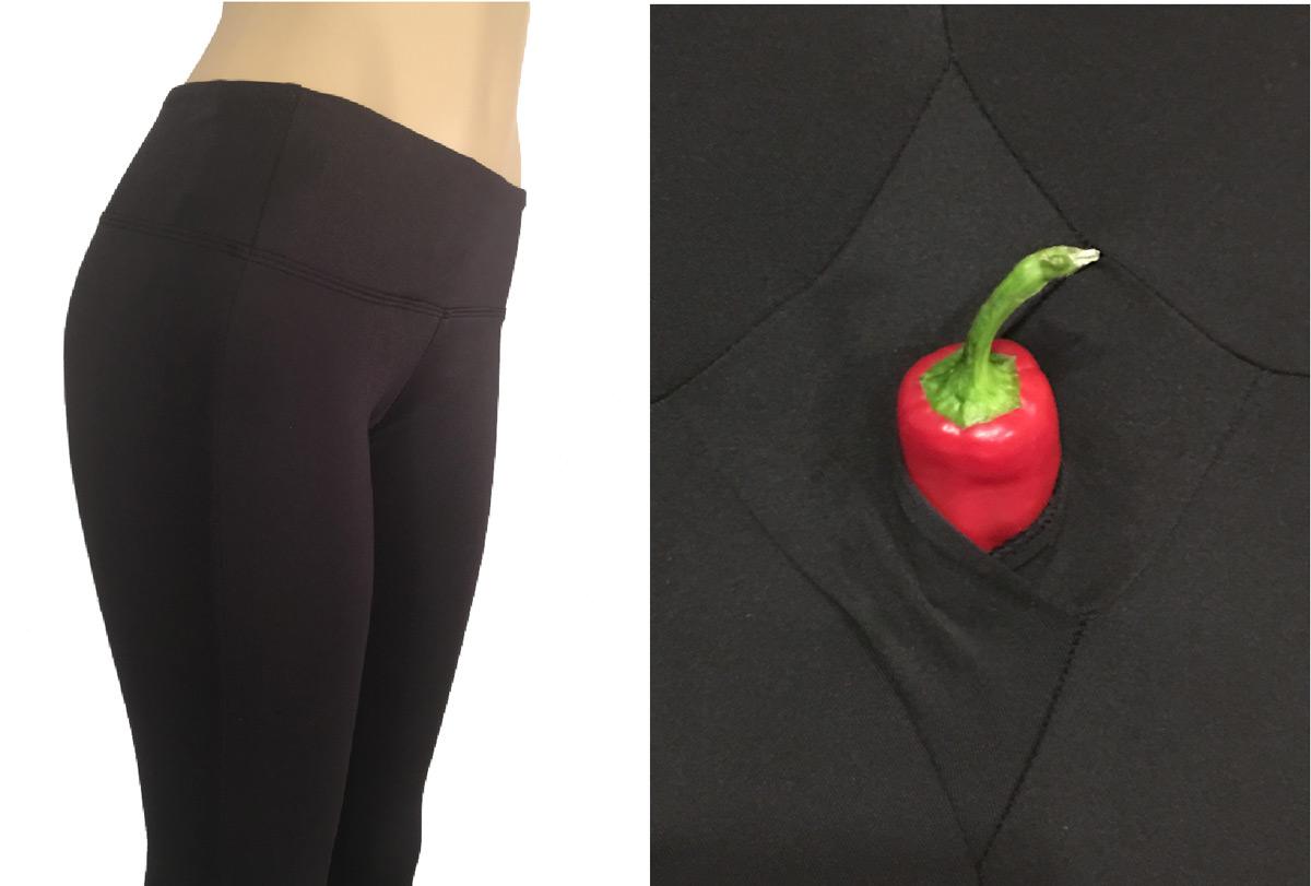 Srirachas Yoga Pants Have A Secret Opening