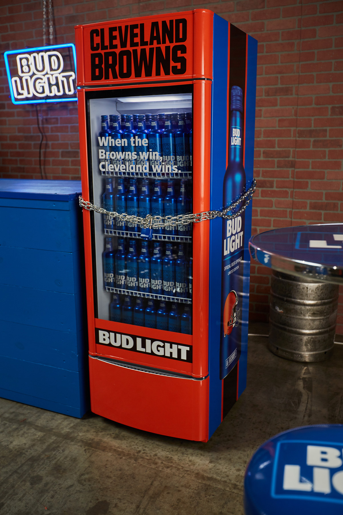 Bud Light Victory Fridge