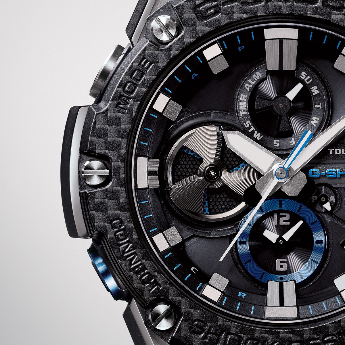 Casio G-SHOCK G-STEEL Connected Carbon GSTB100XA-1A