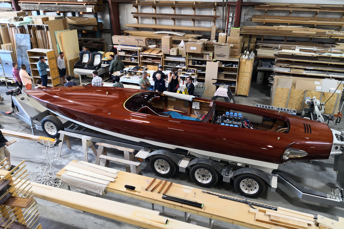 Van Dam Custom Boats