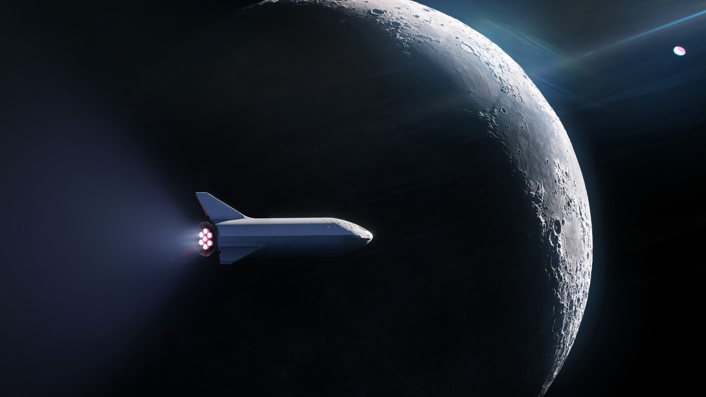 BFR Passing The Moon