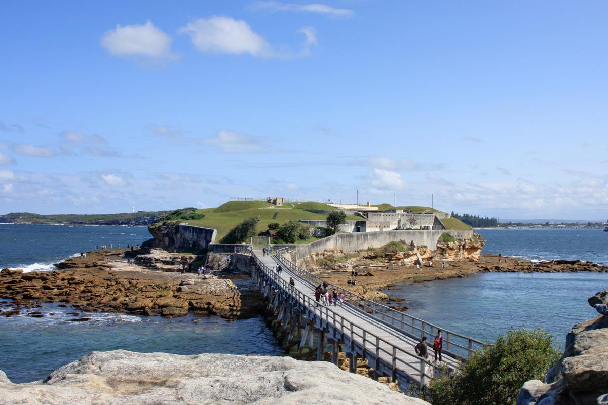 Bare Island - Fort La Perouse