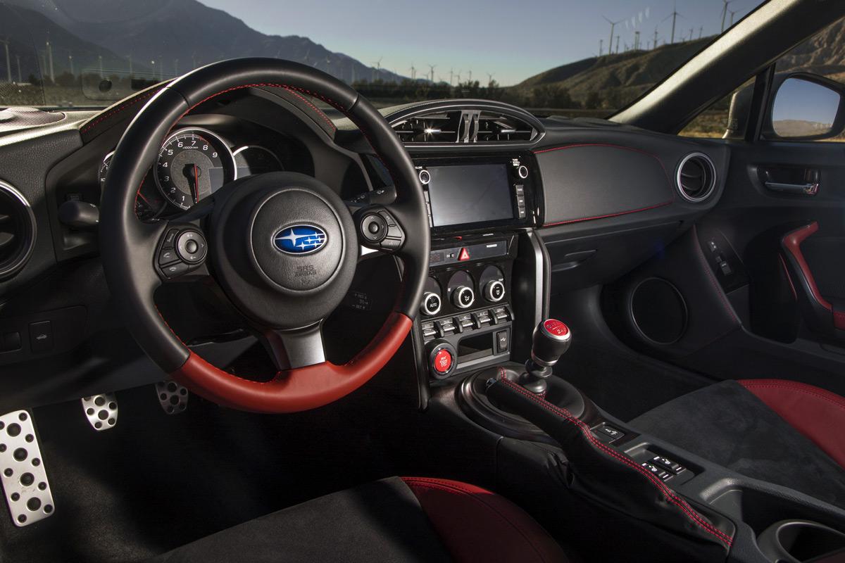 2018 Subaru BRZ tS interior