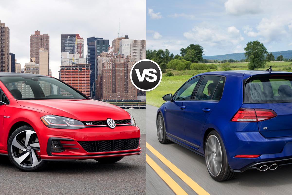 2018 Volkswagen GTI vs. 2018 Volkswagen Golf R