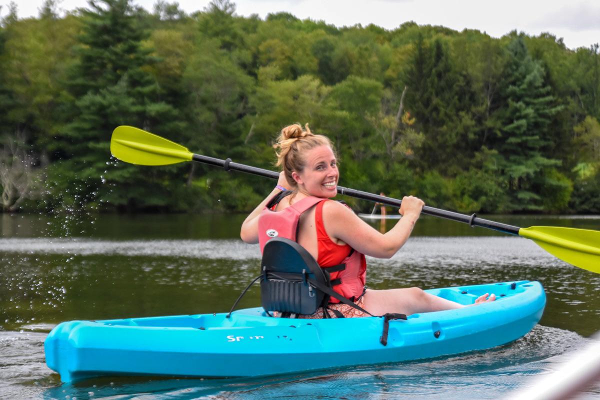 Camp No Counselors - Kayaking