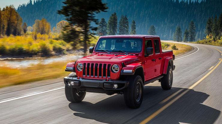 allnew 2020 jeep gladiator midsize pickup makes world debut