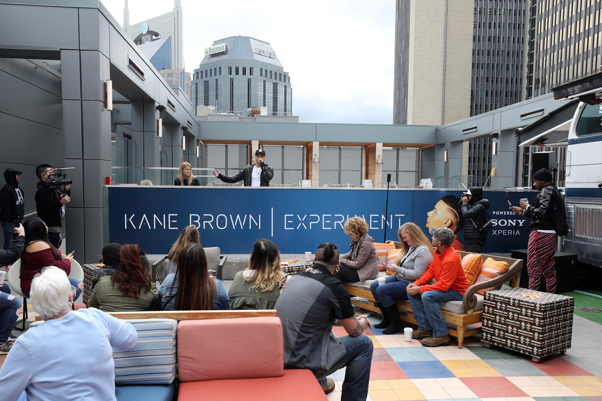Kane Brown Listening Party