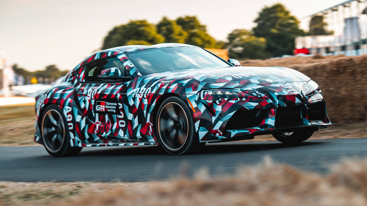 barrett-jackson to auction first all-new 2020 toyota supra