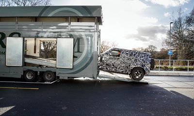 Land Rover Teases Us With A Camoflaged Defender