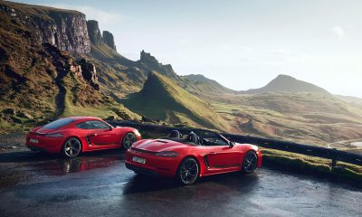 Porsche 718 Boxster and Cayman T