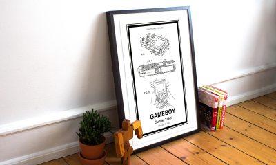 Retro Patents - Nintendo Gameboy Print
