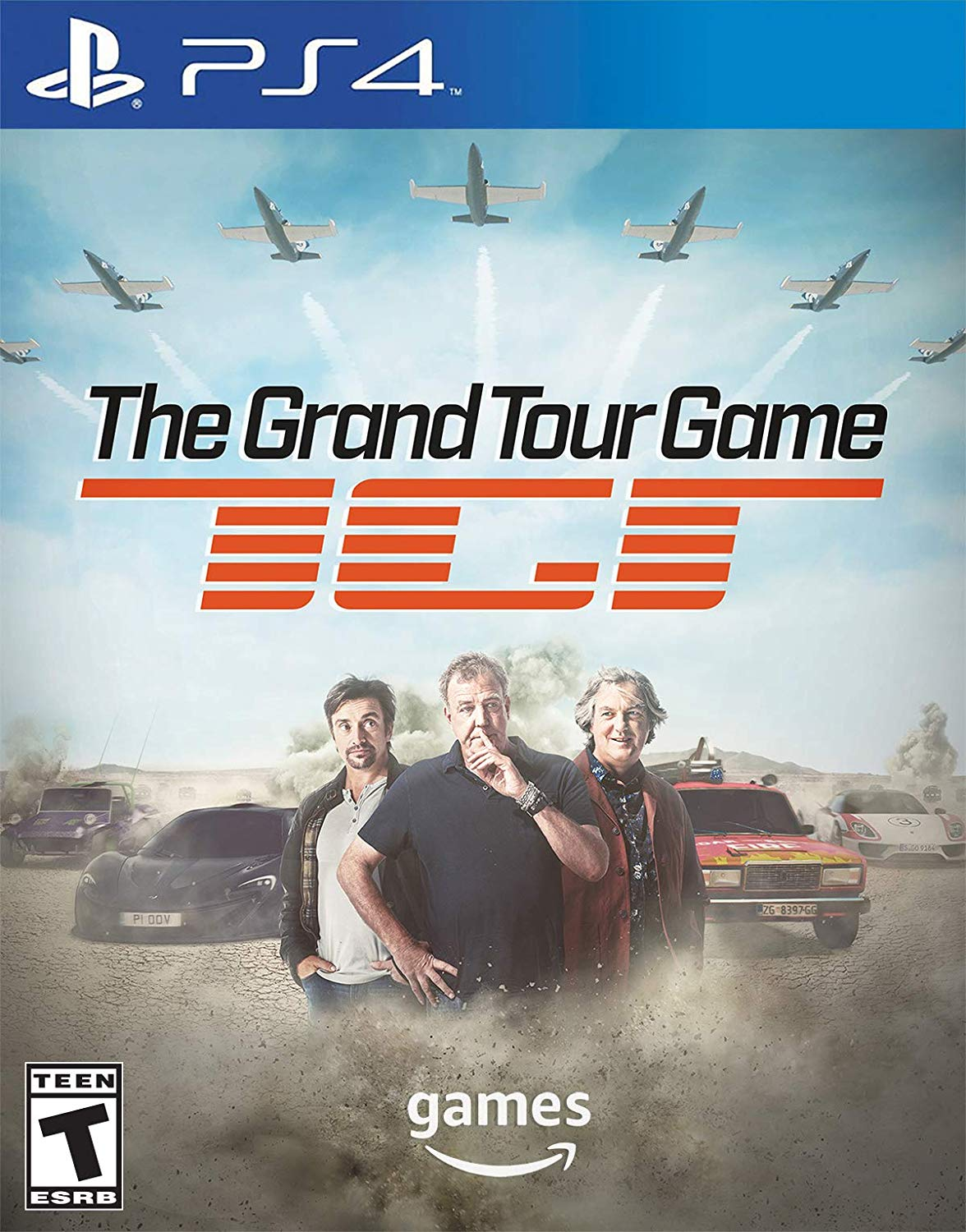 The Grand Tour Game - Box Cover