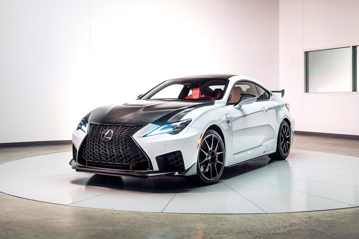 2020 Lexus RC F Track Edition