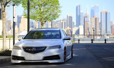 Acura TL with body kit
