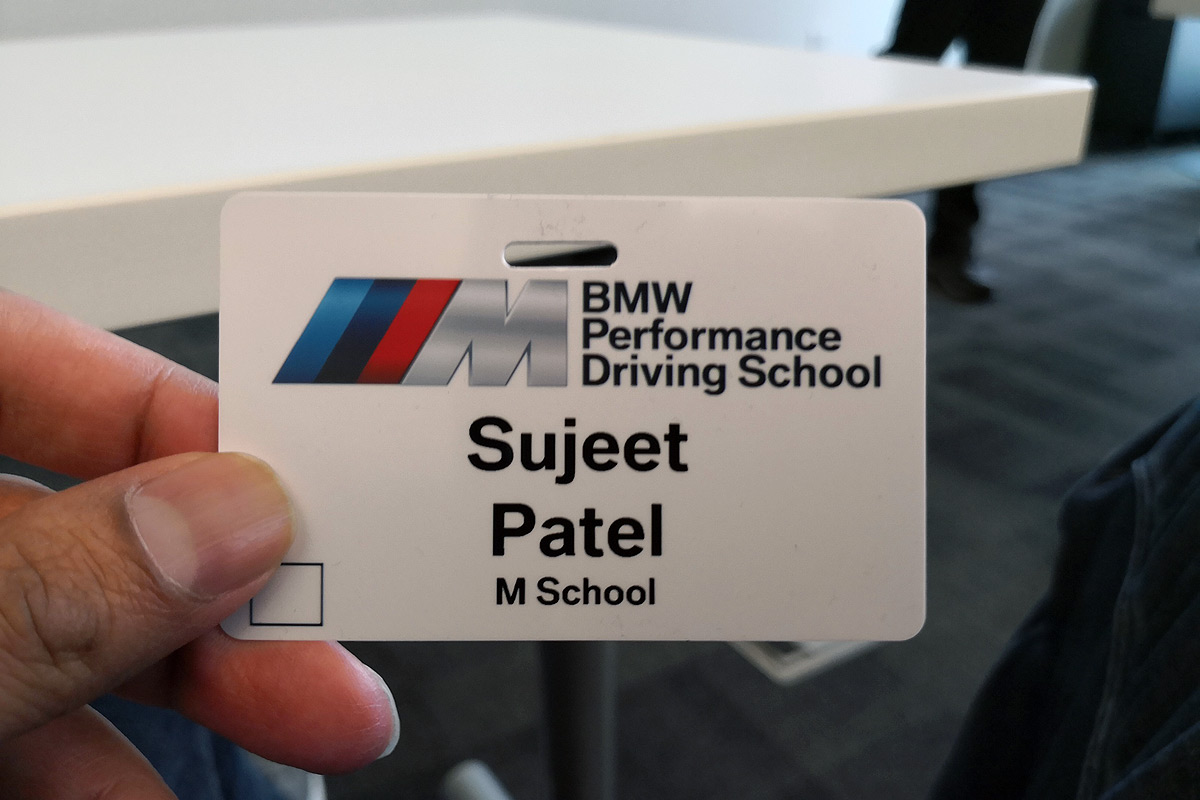 BMW M School - Badge