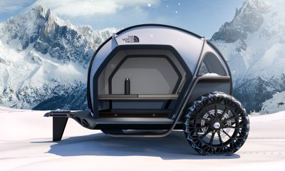 BMW Designworks X The North Face Futurelight Camper