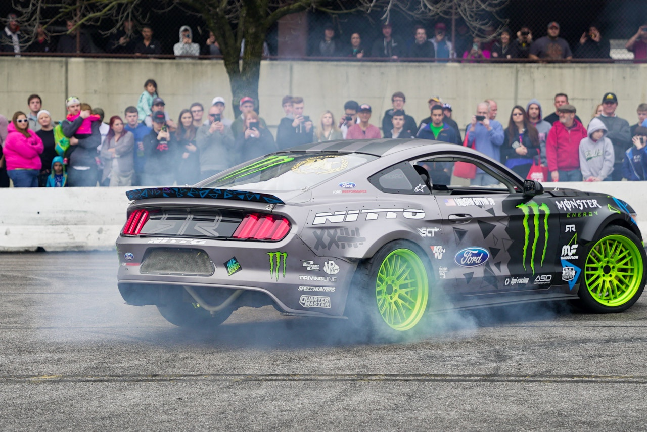 Vaughn Gittin Jr. Drifting Exhibition