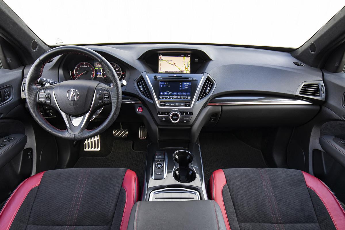 2019 Acura MDX A-Spec interior