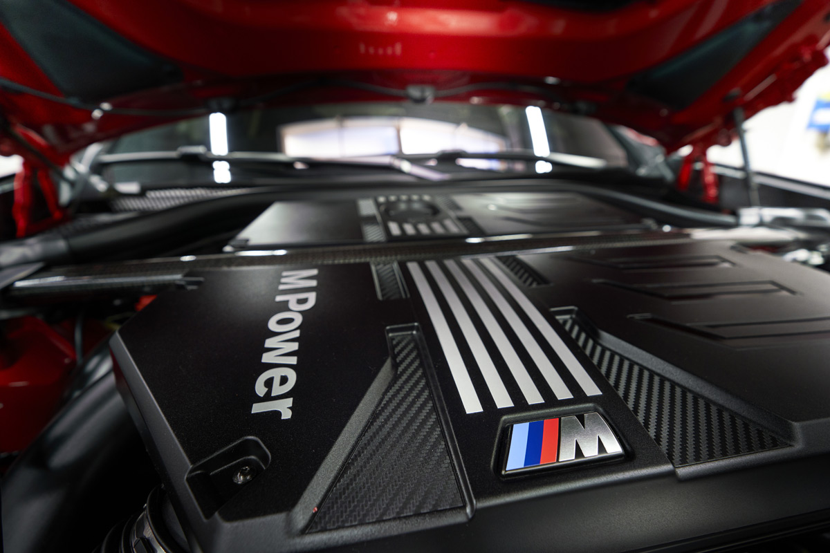 2020 BMW X4 M Engine