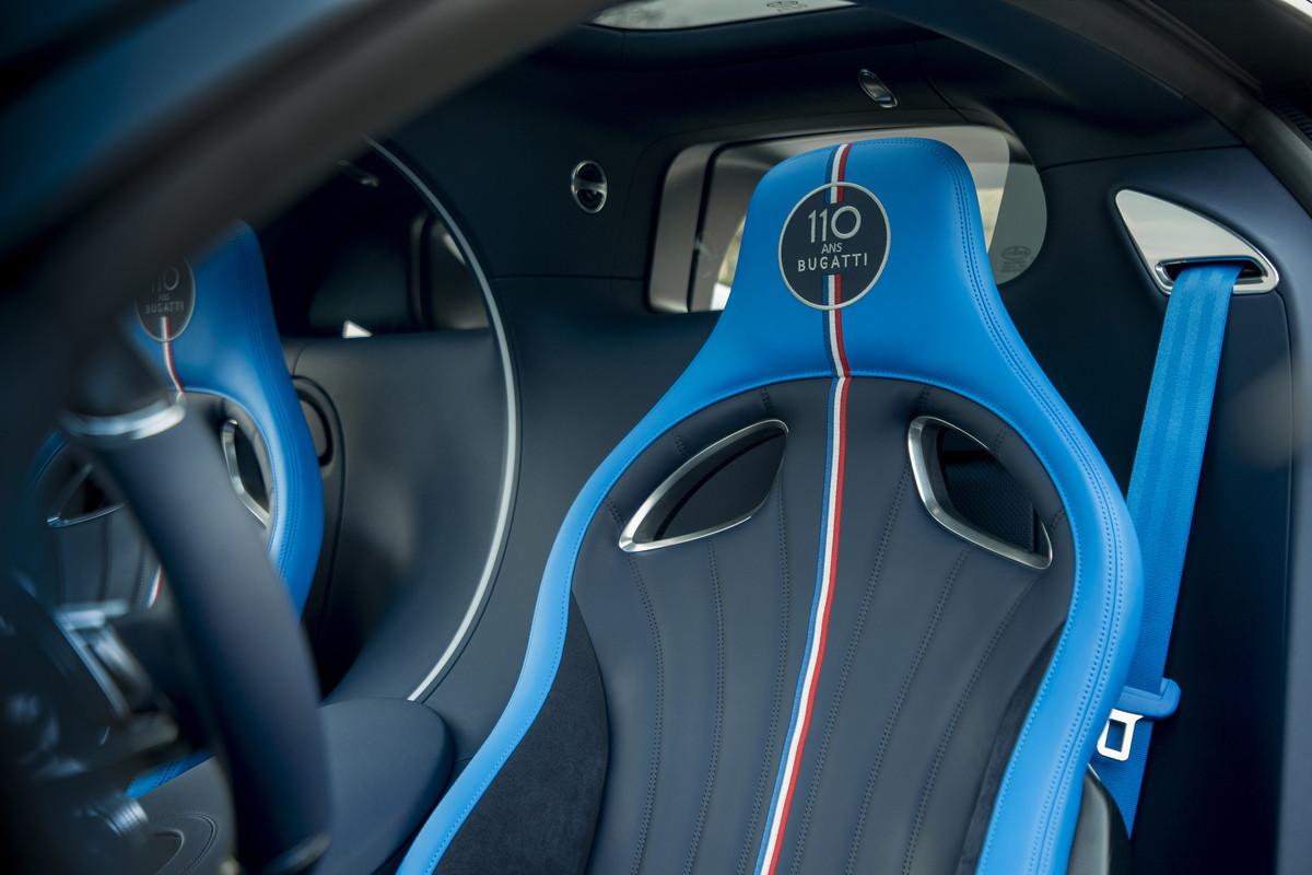"""Bugatti Chiron Sport """"110 ans Bugatti"""" - Interior"""