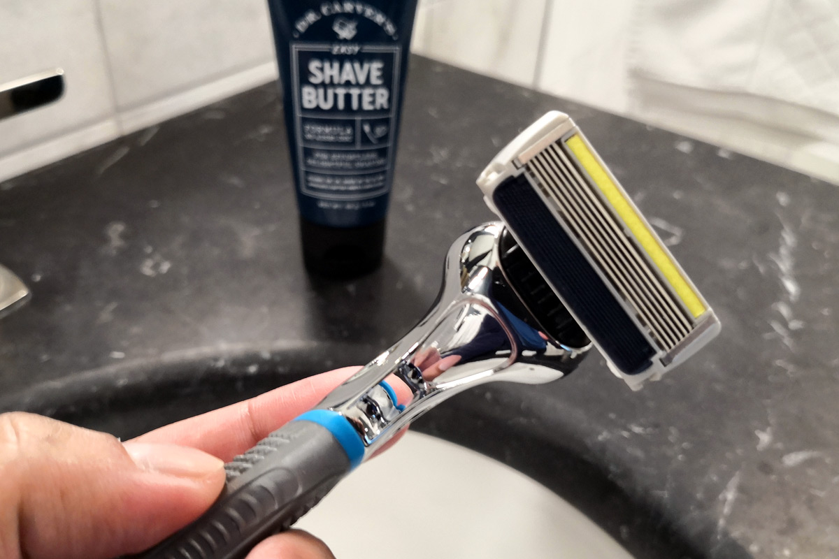 Dollar Shave Club Razor and Shave Butter