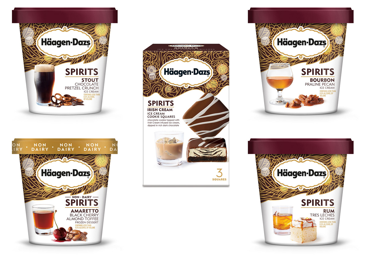 Haagen Dazs Spirits Collection