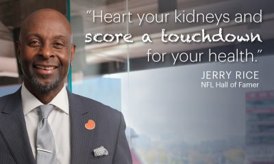 Heart Your Kidneys - Jerry Rice