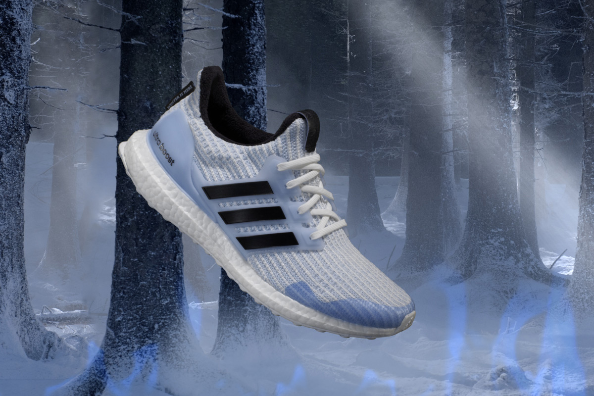 adidas running x Game of Thrones Ultraboost White Walker