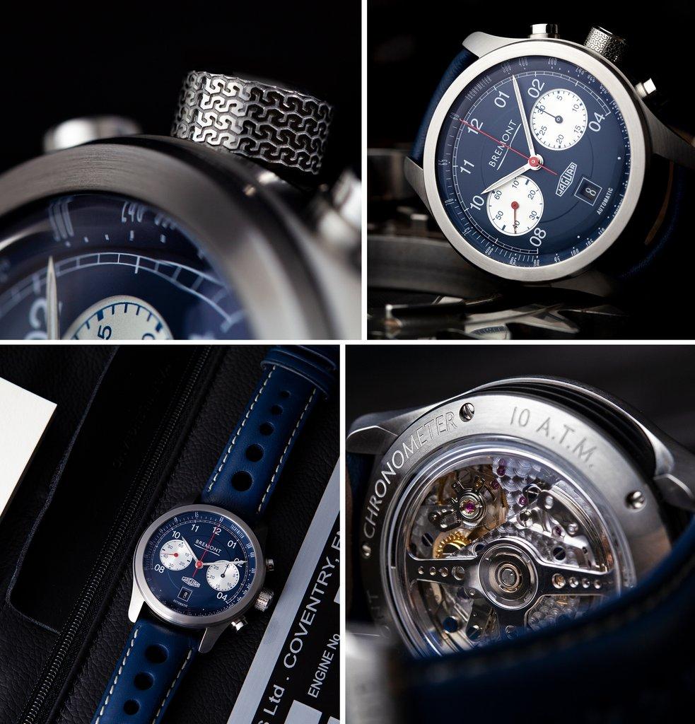 Bremont Jaguar D-Type - Close-Up Details