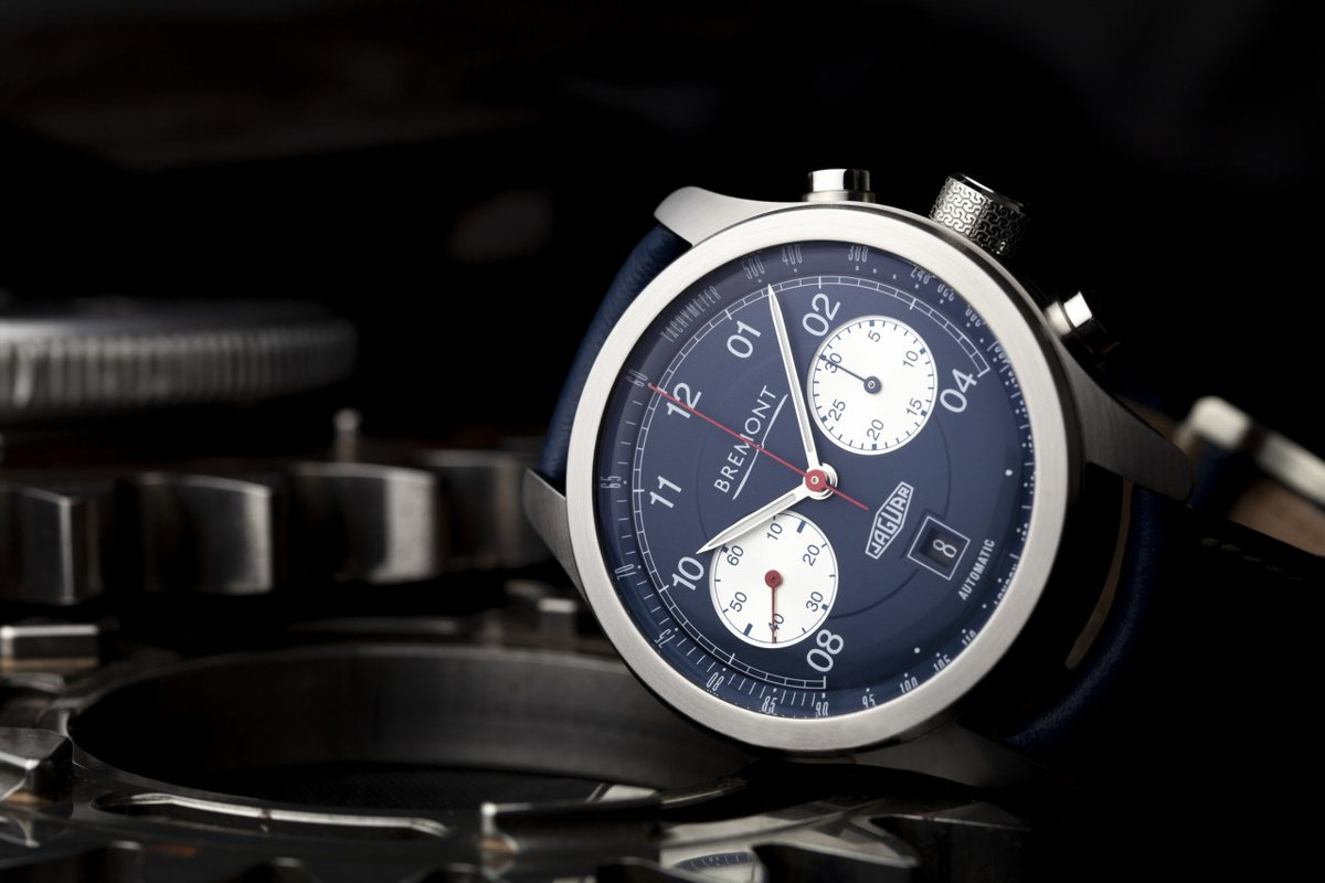 Bremont Jaguar D-Type chronograph