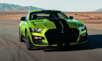 2020 Ford Mustang in Grabber Lime