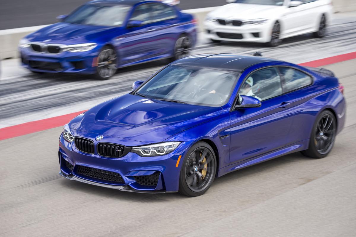 BMW M School - Blue M4