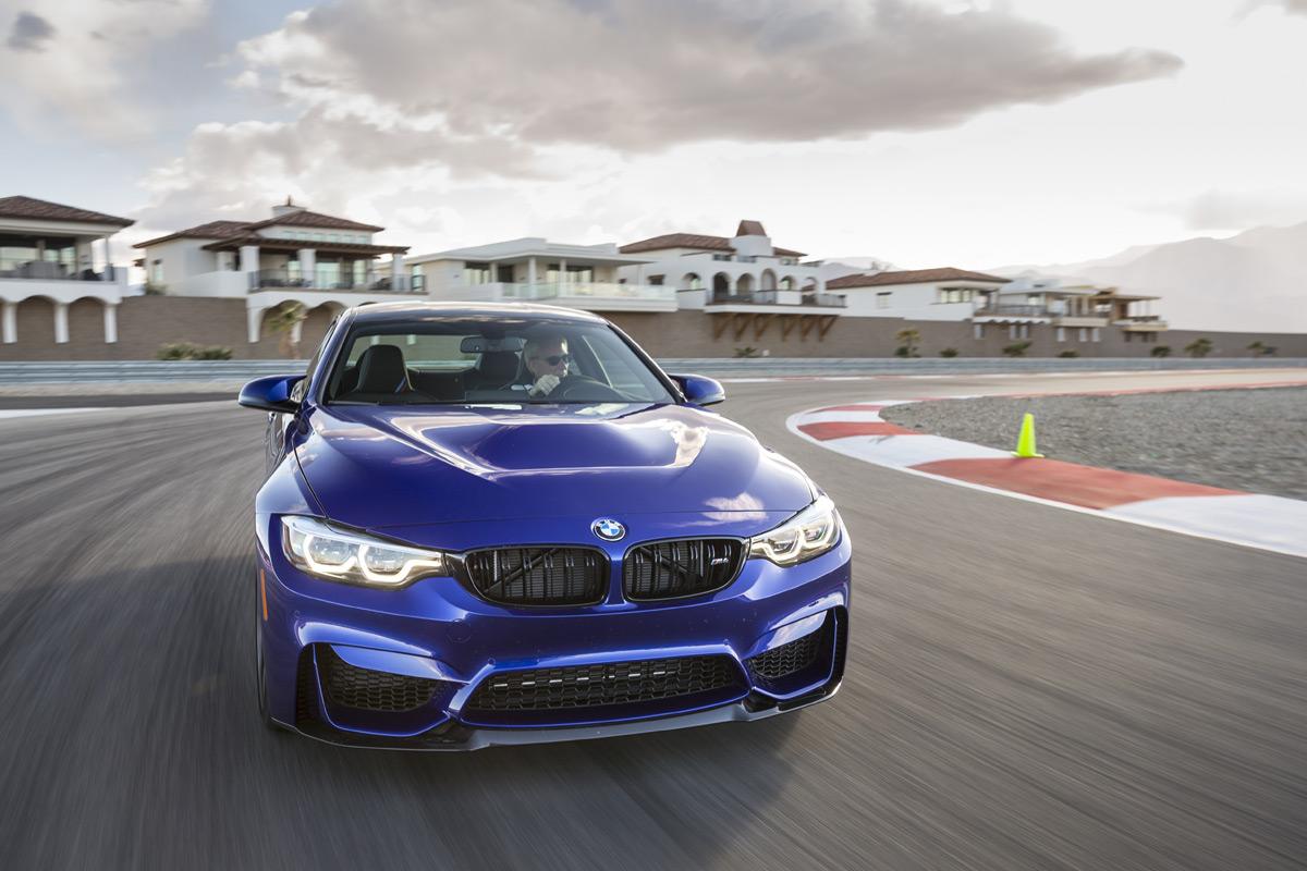 BMW M School - Blue M5